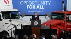 New efficiency standards for big trucks could drive down oil demand.