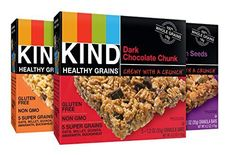 Day hiking tips - KIND Healthy Grains Granola Bars. Day Hiking Tips #4: Energize with food. As much as I love eating gourmet at the campsite, on hikes it is important to pack foods that are easy to transport and filled with energy. Try dried fruit, nuts, granola bars, jerky, tuna packs in sealed pouches…think ready-to-eat, lightweight and no cooking required.  Then go all-out gourmet when you get back to camp!