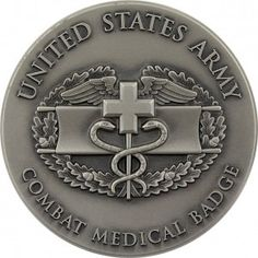 U.S. Army Combat Medical Badge Coin