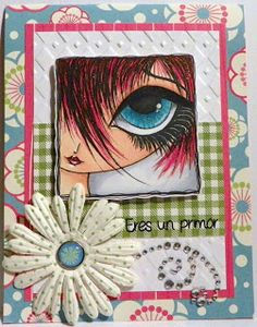 Dilly Beans Stamps: big eye art Dilly Beans, Digital Stamps, Big Eyes, Scrapbooks, My Arts, Art Journaling, Handmade Cards, Creative Ideas, Journals