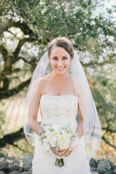 Beautiful bride: http://www.stylemepretty.com/2014/10/03/winery-wedding-full-of-hand-picked-details/ | Photography: Delbarr Moradi - http://delbarrmoradi.com/
