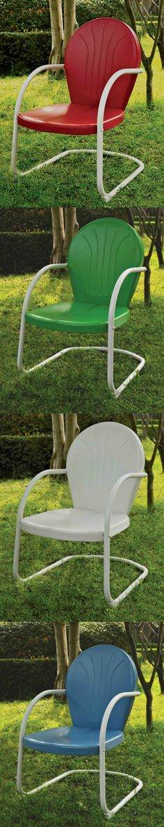 Metal Outdoor Chair — What Was Once Modern Becomes Retro