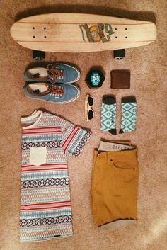 Esta es la ropa perfecta para un fin de semana relajado.