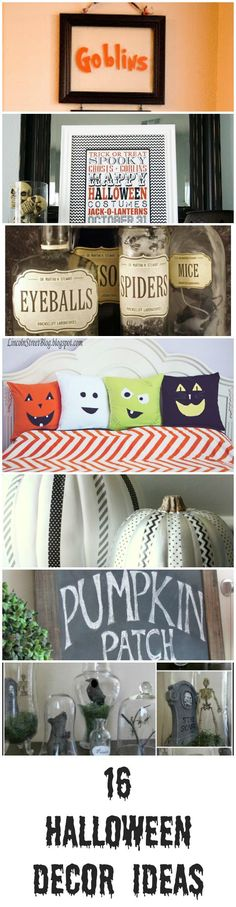 16 Halloween Decor Ideas