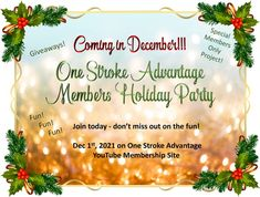 Join One Stroke Advantage on Donna Dewberry YouTube Channel today so you don't miss out on the fun! One Stroke Painting, Donna Dewberry