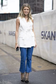 NYFW SS16 DAY 1 - LOOK - Helena Bordon
