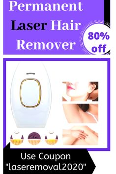 """No more painful waxing now remove all your unwanted hair from roots. it takes 8 weeks to remove unwanted body hair permanently ������������Order today and get 80 % off on checkout use coupon code .""""laseremoval2020"""" #PermanentHairRemoval #UpperLipHairRemoval Chin Hair Removal, Upper Lip Hair Removal, Underarm Hair Removal, Electrolysis Hair Removal, Natural Hair Removal, Hair Removal Diy, Remove Unwanted Facial Hair, Unwanted Hair, Best Permanent Hair Removal"""