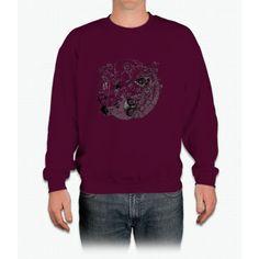 The Yin-Yang Robo Fight! Crewneck Sweatshirt