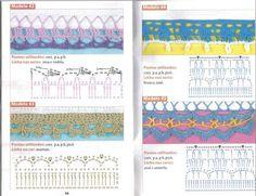 Crochê - Barradinhos e Biquinhos de Crochê - Elaine Cristini - Álbuns da web do Picasa