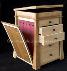 custom made wood jewellery box