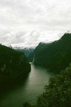 Geirangerfjord, Norway by Kurt Heller.  expressions-of-nature