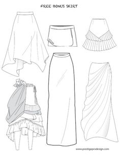Fashion Flat Sketches of Skirts, Dresses, Tops, Jackets and more for Women's. We offer latest fashion e-books for templates and sketches. Flat Drawings, Flat Sketches, Fashion Illustration Sketches, Fashion Sketches, Fashion Flats, Fashion Dresses, Fashion 2018, Fashion Trends, Clothing Sketches