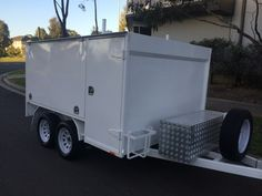 Landscape Trailers, Work Trailer, Truck Design, Land Rover Defender, Concept Cars, Campers, Cars And Motorcycles, Recreational Vehicles, Trucks