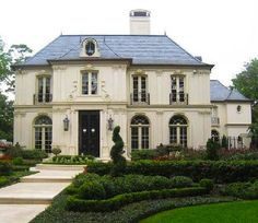 French style home.