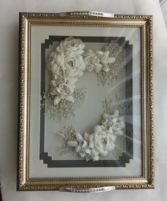 Craft Stick Crafts, Quilling, Frame, Flowers, Bedspreads, Picture Frame, Frames, Royal Icing Flowers, Quilting
