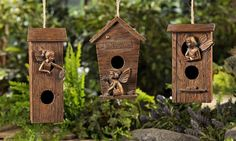 Bronze Fairy Bird House