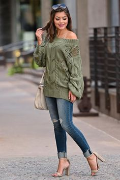 fantastic spring outfit idea for women style 42 Fall Fashion Outfits, Dressy Outfits, Spring Outfits, Cute Outfits, Womens Fashion, Winter Outfits, Clothes To Order, Clothes For Women, Jeans With Heels