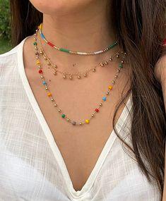 Cute Jewelry, Jewelry Crafts, Jewelry Accessories, Jewelry Design, Bead Jewellery, Jewelery, Handmade Wire Jewelry, Accesorios Casual, Summer Jewelry