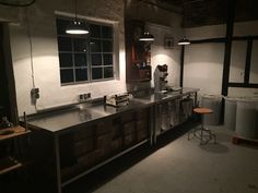 New Lights in Herr Hase Roastery