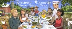 The Organic Council of Ontario Trade Association, Ontario, Sustainability, Canada, Organic, Dinner, Health, Party, Dining