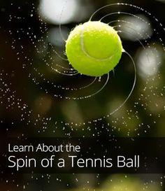 Understanding the Spin of a Tennis Ball