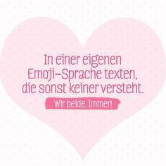 Jeder hat doch diese ganz besondere Freundin! #Freundschaft #BFF #Motivational #Emoji #happy #Sprüche #Statement #Friendship