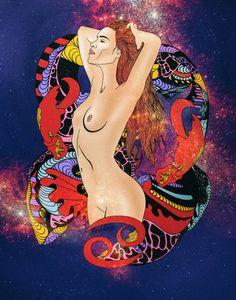 12 Zodiacs Art Series - Kenalsworld - Visual Art, Art Direction, Illustrations, & Design