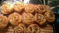 Festive Savoury Swirls