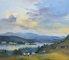 David Atkins Evening light, Windermere