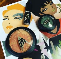 Star Trek-inspired M∙A∙C Collection Available Online TODAY Star Trek, Eyeshadow, Hair Beauty, Inspired, Stars, Inspiration, Collection, Biblical Inspiration, Eye Shadow