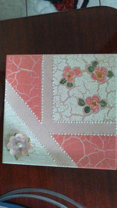 Caixa em MDF decorada com Craquele