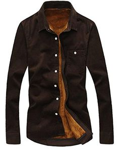 APTRO Men's Corduroy Winter Fleece Warm Thermal Casual Dress Shirt Brown US XS(Tag 2XL) APTRO http://www.amazon.co.uk/dp/B01297A1J6/ref=cm_sw_r_pi_dp_V0oywb0H2XBF9
