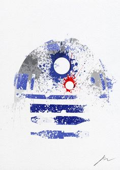 @Courtney Thompson next art project?  Star Wars Splatter paintings...