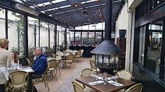 Bastille Cafe & Bar - 'Damn Good French Cuisine' offers outdoor eating and Brunch on Sundays.