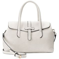 Mellow World Jenna Convertible Satchel ($70) ❤ liked on Polyvore featuring bags, handbags, white, vegan handbags, white handbags, satchel handbags, white hand bags and vegan purses