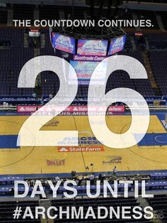 Getting closer. Do you have your tickets yet? http://www.archmadness.com/discounts/default/