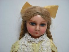 SUPER RARE 1920 s ITALIAN GASPARE BURGARELLA CHILD DOLL | eBay