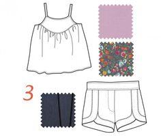 Kristin's summer edit: swingset tunic and class picnic shorts