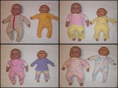 Baby clothes to doll clothes. Simple tutorial! Great upcycling through downsizing.