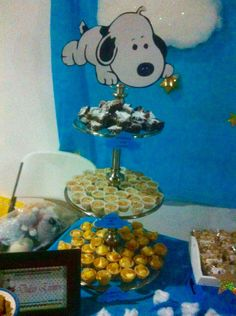 Baby shower snoopy