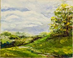 Kirkwood Preserve, 8x10 oil by Annie Strack, $195.