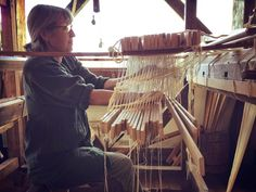 marshfield school of weaving: Big Bertha becomes a Draw Loom….