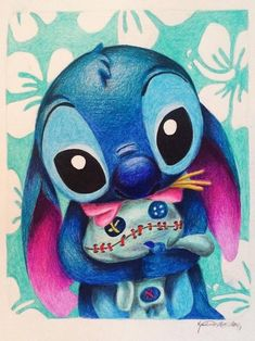 He loves his doll and the bill loves him I love stitch