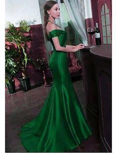 Vestido - Longo Sereia - Ombro a Ombro - BRL R$ 444,57
