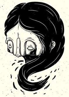Christi du Toit Parallèle Zine // The Unexplained on Behance Character Drawing, Character Illustration, Graphic Design Illustration, Illustration Art, Art Sketches, Art Drawings, Arte Horror, Character Design Inspiration, Zine