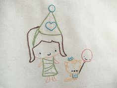 Free Embroidery Pattern - Crafty Carnival