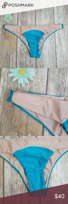 Amuse society bikini Brand new bottoms that can be reveirsable Amuse Society Swim Bikinis