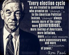 Ron Paul has no room to talk, dirty like the rest. Political Quotes, Political Views, Political Cartoons, Ron Paul, Deep, Truth Hurts, Right Wing, Inspirational Thoughts, Quotations