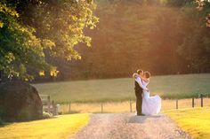 The bride and groom are positively glowing in this farm wedding photo http://www.weddingmusicproject.com/ceremony-music/wedding-hymns/catholic-wedding-hymns/  http://www.weddingmusicproject.com/ http://www.weddingmusicproject.com/ceremony-music/wedding-hymns/