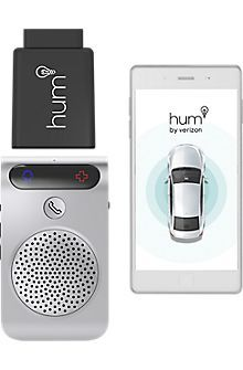 Verizon Hum x in Silver and Black, Silver/Black